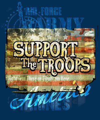 BM1251 - Baldwin, Jim - Support The Troops America