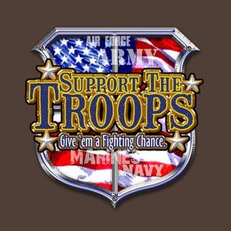 BM1253 - Baldwin, Jim - Support The Troops America