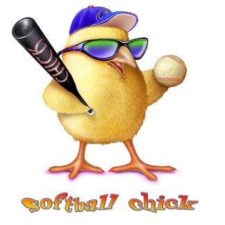 BM1324 - Baldwin, Jim - Softball Chick
