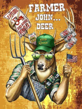 BM1428 - Baldwin, Jim - Deer / Deer / Elk John