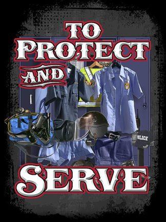BM1485 - Baldwin, Jim - Protect and Serve
