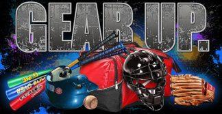 BM1764 - Baldwin, Jim - Gear Up Baseball