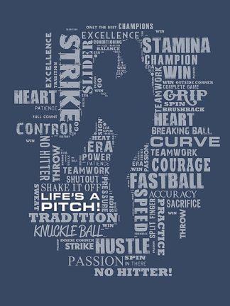 BM1865 - Baldwin, Jim - Baseball Words