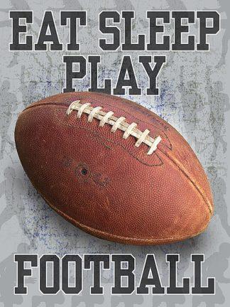 BM1879 - Baldwin, Jim - Eat Sleep Play Football