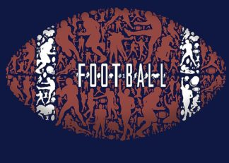 BM1964 - Baldwin, Jim - Football (blue)