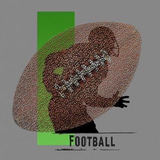 BM1973 - Baldwin, Jim - Football (grey)