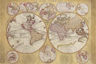 C864 - Coronelli, Vincenzo - Le Globe Terrestre