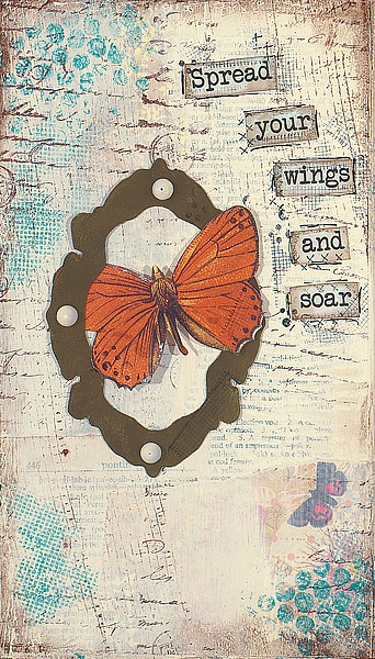 CU1021 - Cushman, Cassandra - Spread Your Wings