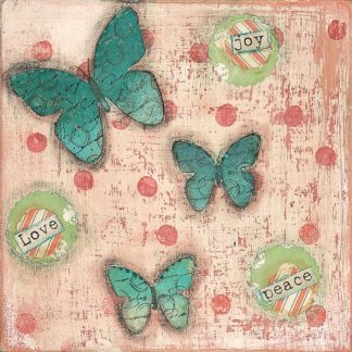 CU1150 - Cushman, Cassandra - Joy Love Peace Butterflies