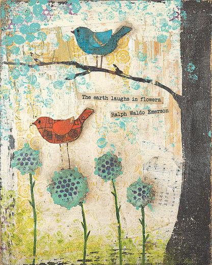 CU1581 - Cushman, Cassandra - Earth Laughs in Flowers