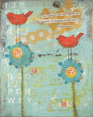 CU1586 - Cushman, Cassandra - The Flowers are Springing Up