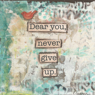 CU1677 - Cushman, Cassandra - Dear You Never Give Up