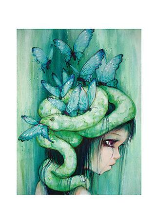 D819 - d'Errico, Camilla - The Purple Tear Girl