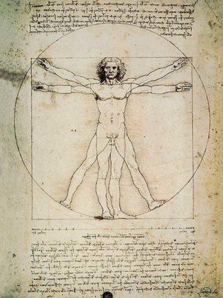 D850 - Da Vinci, Leonardo - L'Uomo Vitruviano