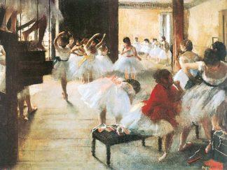D852 - Degas, Edgar - Ecole de Danse