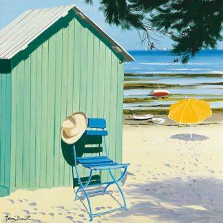 D856 - Deuil, Henri - Green Beach Hut
