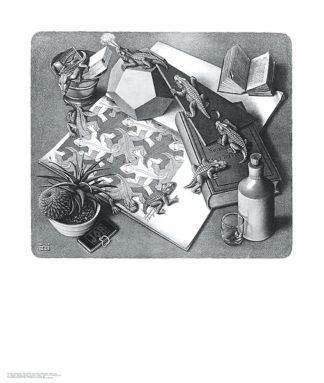 E24 - Escher, M. C. - Reptiles