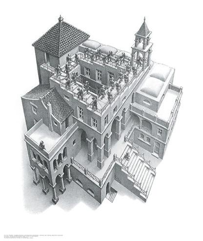 E27 - Escher, M. C. - Ascending and Descending