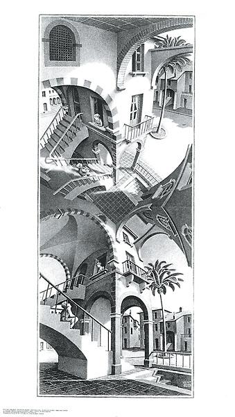 E28 - Escher, M. C. - High and Low