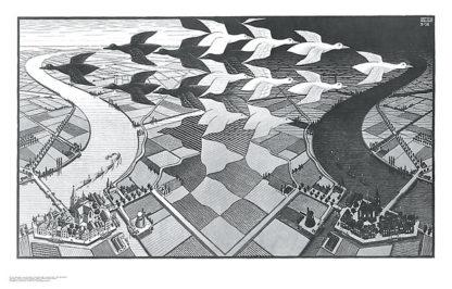 E30 - Escher, M. C. - Day and Night