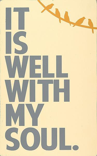 ER1049 - Deranja, Erin - It Is Well