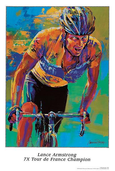 F253 - Farley, Malcolm - Lance Armstrong – 7X Tour de France Champion