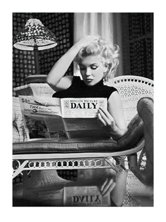 F291 - Feingersh, Ed - Marilyn Monroe, Motion Picture Daily