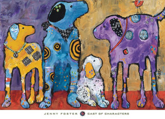 F578 - Foster, Jenny - Cast of Characters