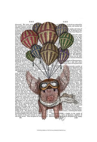F631 - Fab Funky - Pig and Balloons