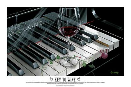 G598 - Godard, Michael - The Key to Wine