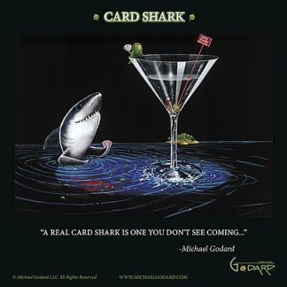 G667 - Godard, Michael - Card Shark