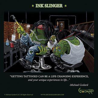G670 - Godard, Michael - Ink Slinger