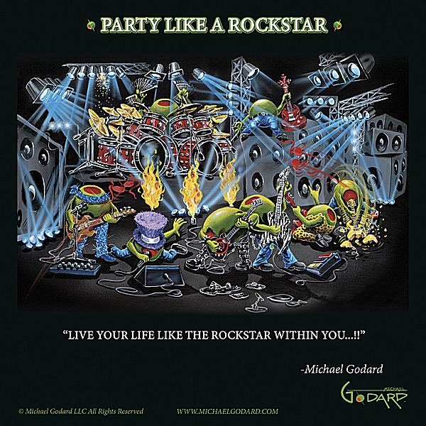 G678 - Godard, Michael - Party Like a Rock Star