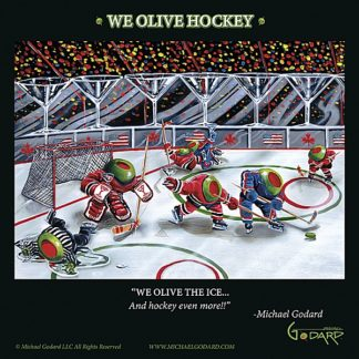 G684 - Godard, Michael - We Olive Hockey