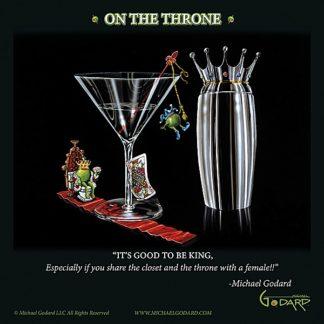 G687 - Godard, Michael - On the Throne