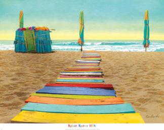 H893 - Hix, Robin Renee - Beach Walk