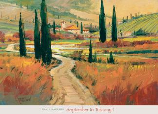 J231 - Jackson, David - September in Tuscany I