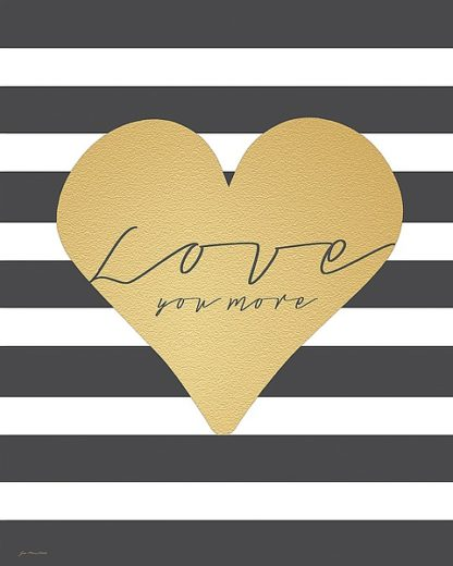 JM11220 - Moulton, Jo - Faux Gold Love You More - Stripes