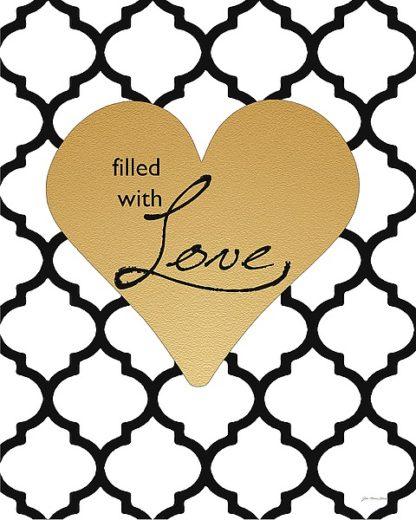 JM11589 - Moulton, Jo - Faux Gold Filled with Love