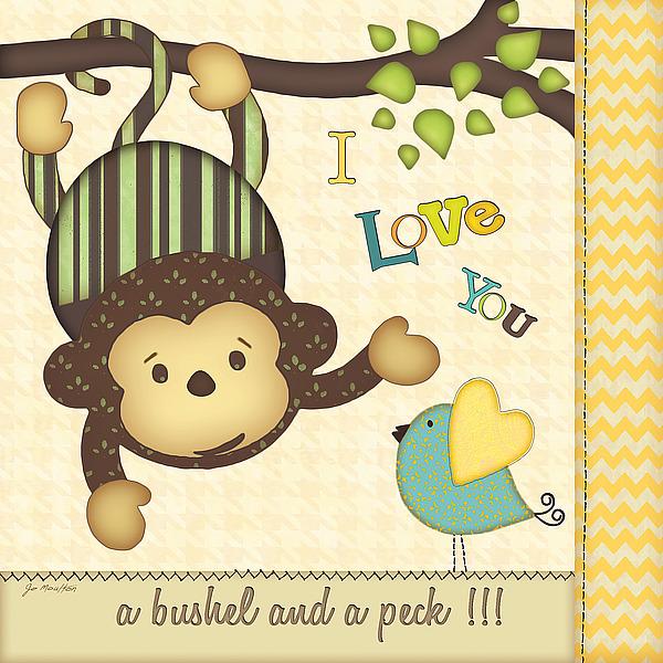 JM9673 - Moulton, Jo - I Love You Monkey