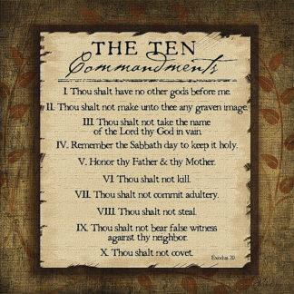JP1164 - Pugh, Jennifer - The Ten Commandments