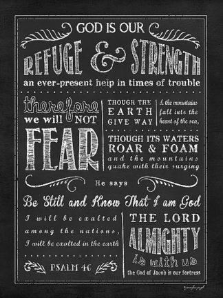 JP3415 - Pugh, Jennifer - Chalkboard Psalm 46