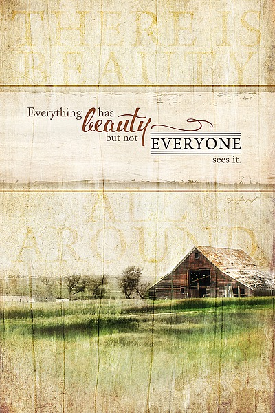 JP3806 - Pugh, Jennifer - Everything Has Beauty