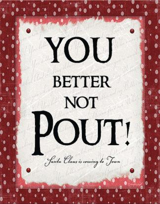 JP4290 - Pugh, Jennifer - You Better Not Pout