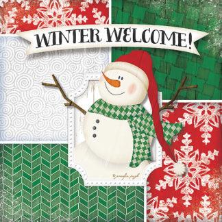 JP4434 - Pugh, Jennifer - Winter Welcome-Snowman