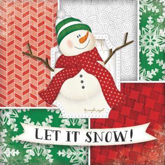 JP4435 - Pugh, Jennifer - Let It Snow-Snowman