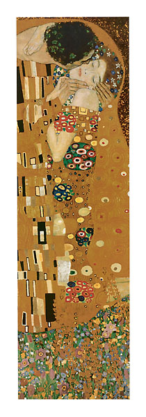 K315 - Klimt, Gustav - The Kiss (foil, detail)