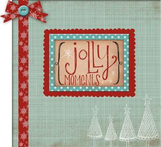 KA1076 - Doucette, Katie - Christmas Scrapbook