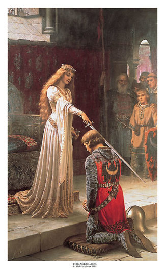 L159 - Leighton, Edmund Blair - The Accolade