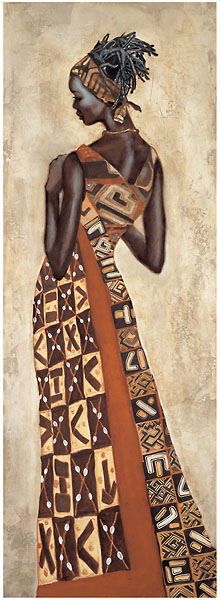 L336 - Leconte, Jacques - Femme Africaine II